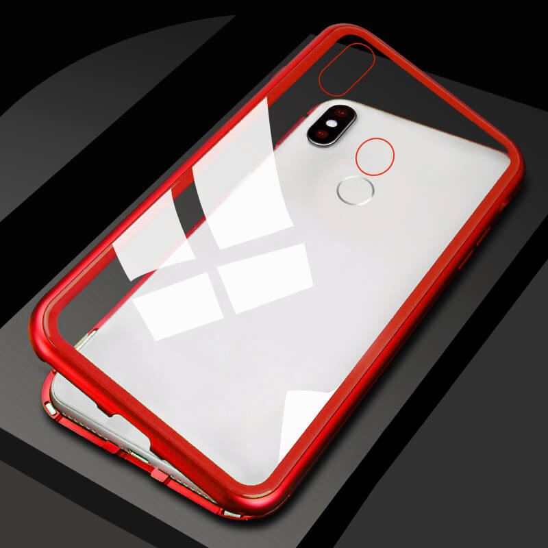 Magnetic Adsorption Metal Phone Case for Huawei Y5 Y6 Y7 Prime Y9 2019 Nova 2i 3 3i 3E 4 5i 5 Pro Mate 20 20X P30 P20 Lite Cover